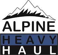 Alpine Heavy Haul Logo